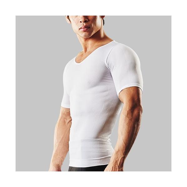加圧シャツ メンズ 加圧インナー vネック 男性用 スパルタックス コンプレッションウェア|shizenshop|19