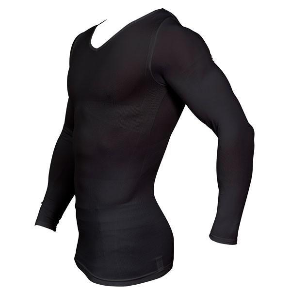 加圧シャツ 加圧インナー 姿勢矯正 着圧 メンズ ロングTシャツ コンプレッションウェア 猫背矯正 防寒インナー メンズ スポーツインナー スパルタックス|shizenshop|18
