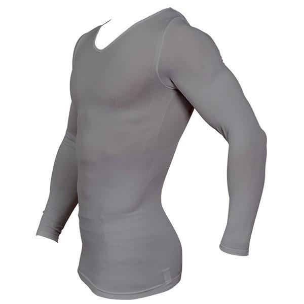 加圧シャツ 加圧インナー 姿勢矯正 着圧 メンズ ロングTシャツ コンプレッションウェア 猫背矯正 防寒インナー メンズ スポーツインナー スパルタックス|shizenshop|21