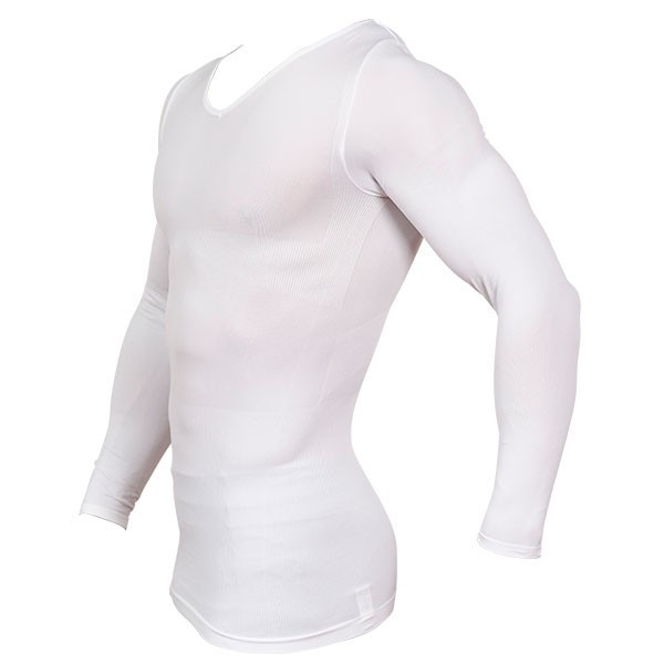 加圧シャツ 加圧インナー 姿勢矯正 着圧 メンズ ロングTシャツ コンプレッションウェア 猫背矯正 防寒インナー メンズ スポーツインナー スパルタックス|shizenshop|19
