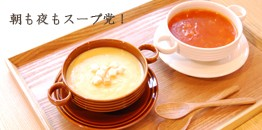 オシャレなスープカップ☆アメ色・しろ色