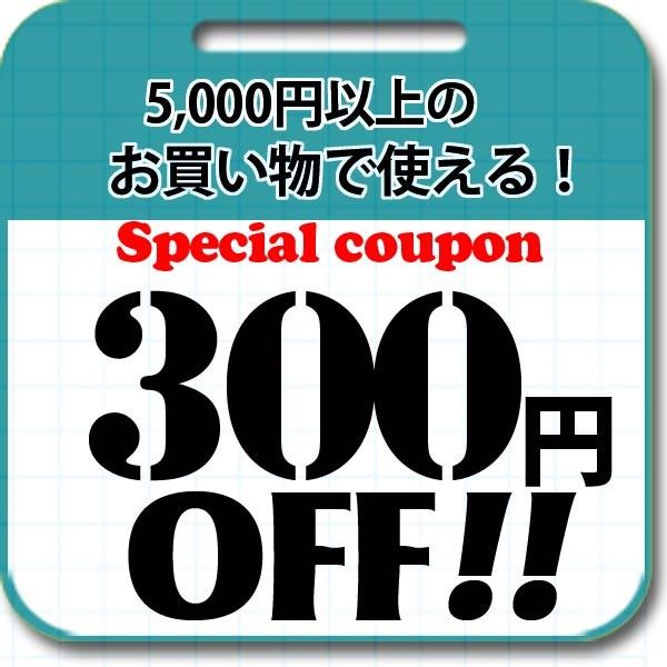 全品対象期間限定5000円以上ご注文で300円引きクーポン