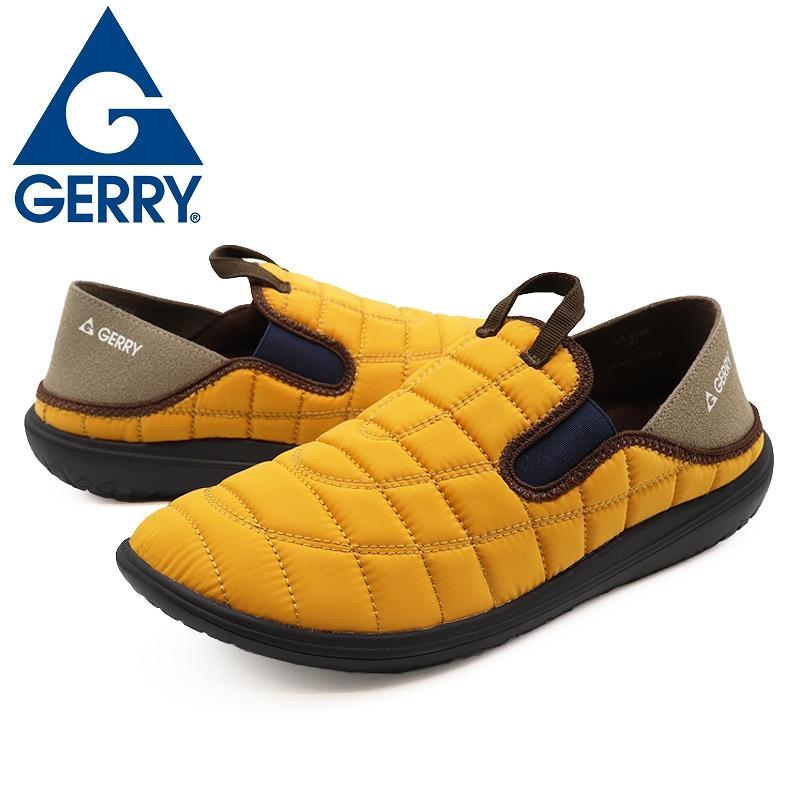 GERRY ジェリー スリッポンスニーカー メンズ アウトドア靴 2WAYモックシューズ 軽量 難燃 黒 黄 カーキ shoesstore-reodert 18