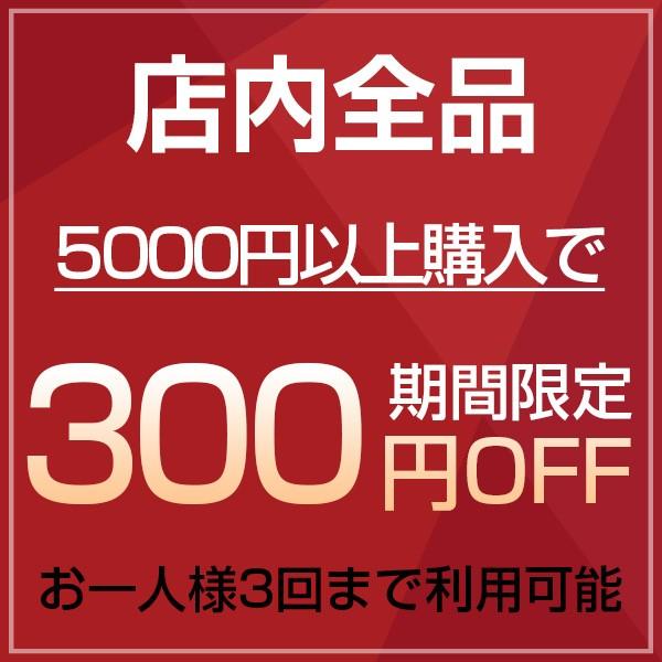 ≪店内全品対象≫すぐに使える・今だけ5000円以上購入で300円引き!!