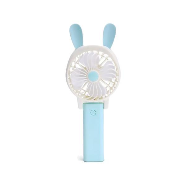 うさぎ くま モチーフ ポータブルファン ハンディ うさ耳 くま耳 手持ち 卓上 2way 扇風機 コードレス USB充電式 猛暑対策 暑さ対策 ALW-HY045852 shop-always 06