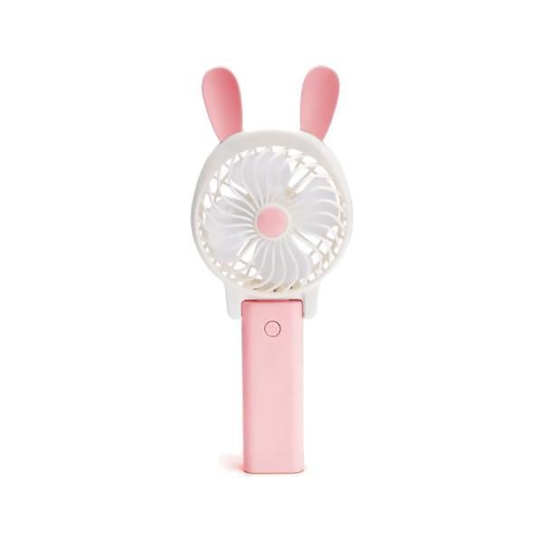 うさぎ くま モチーフ ポータブルファン ハンディ うさ耳 くま耳 手持ち 卓上 2way 扇風機 コードレス USB充電式 猛暑対策 暑さ対策 ALW-HY045852 shop-always 08
