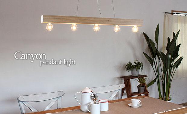 5灯ペンダントライト/Canyon キャニオン