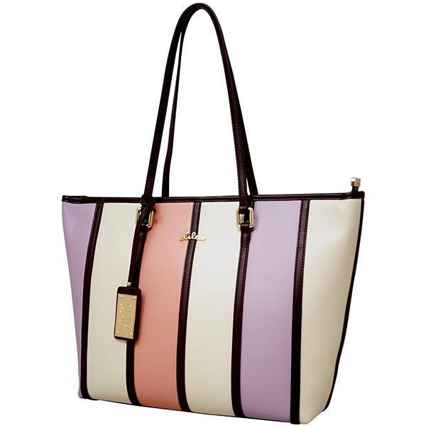トートバッグ レディース バッグ 通勤 トート 鞄 A4サイズ マルチカラー ストライプ Clelia CL-22130-6|shop-kazzu|22