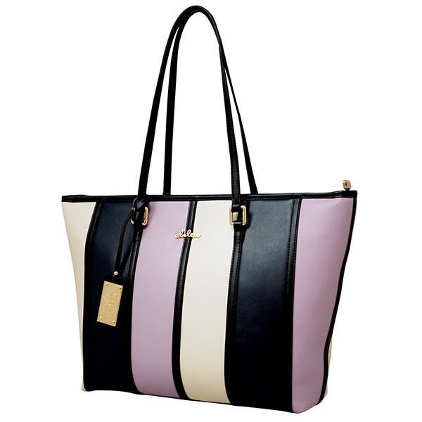 トートバッグ レディース バッグ 通勤 トート 鞄 A4サイズ マルチカラー ストライプ Clelia CL-22130-6|shop-kazzu|26