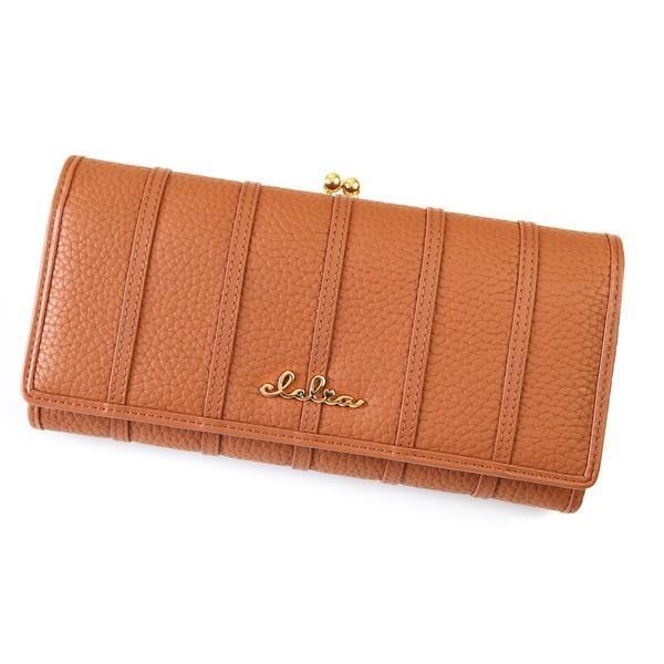 財布 長財布 レディース がま口 大容量 フラップ 札入れ 二層 ストライプ がま口長財布 Clelia CL-10269|shop-kazzu|35