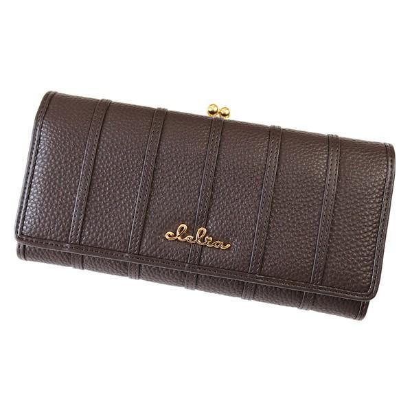 財布 長財布 レディース がま口 大容量 フラップ 札入れ 二層 ストライプ がま口長財布 Clelia CL-10269|shop-kazzu|33
