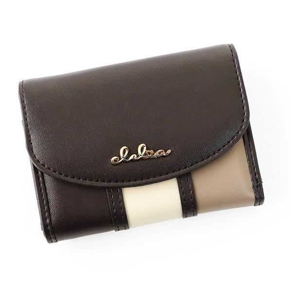 ミニ財布 レディース 三つ折り 小さい財布 極小財布 ストライプ フラップ 財布 コンパクトウォレット Clelia CL-11331|shop-kazzu|21