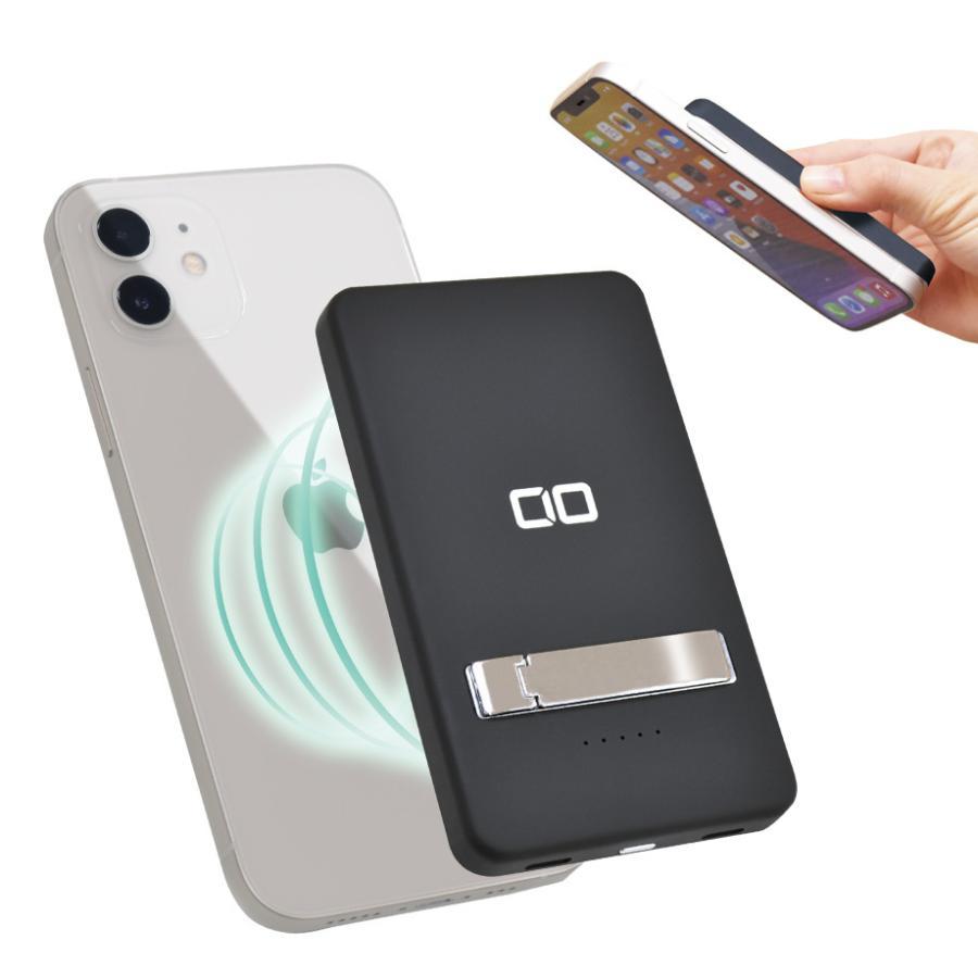 モバイルバッテリー MagSafe対応 iPhone12/Pro/ProMax/mini マグネット PD ワイヤレス充電 軽量 小型 5000mAh 急速充電対応 15W充電 コンパクト Android Galaxy|shops-of-the-town|14