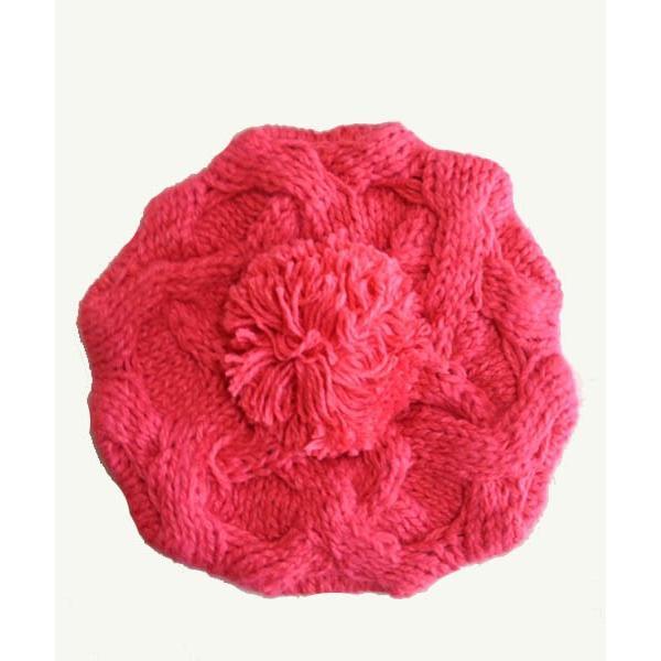 レディース 帽子 ポンポン付きニット帽 ニットベレー 毛糸帽子 mz2320|shopzero|16