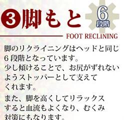 リクライニングフロアソファ【オーロラ】