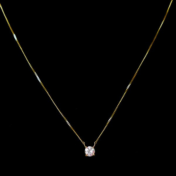 0.3ctダイヤモンドk18ネックレスペンダント