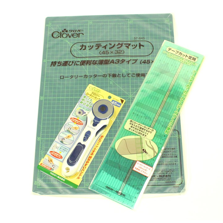 つまみ細工の布カットに便利な3点セット