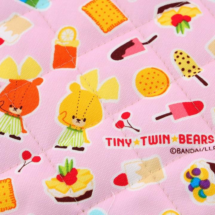 TINY TWINBEARS ガンバレ!ルルロロ スイーツ オックスキルト (50cm単位)