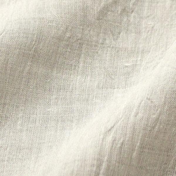 近江ちぢみ無地カラーリネン (50cm単位)    近江の麻 リネン100%  切売り 生地 布 近江麻 亜麻 ナチュラル shugale1 10