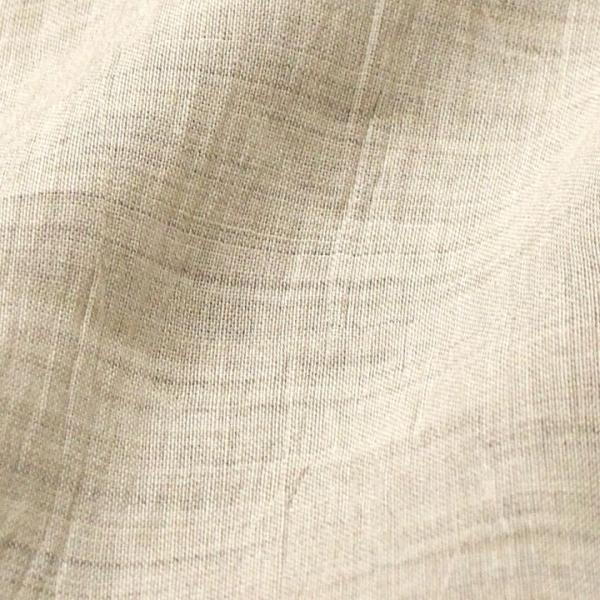 近江ちぢみ無地カラーリネン (50cm単位)    近江の麻 リネン100%  切売り 生地 布 近江麻 亜麻 ナチュラル shugale1 11