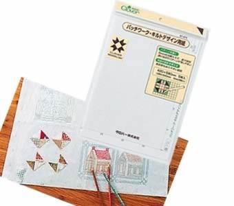 パッチワークキルトデザイン用紙