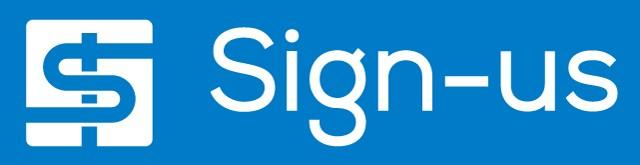 安全鋼板 土木仮設材 Sign-us ロゴ