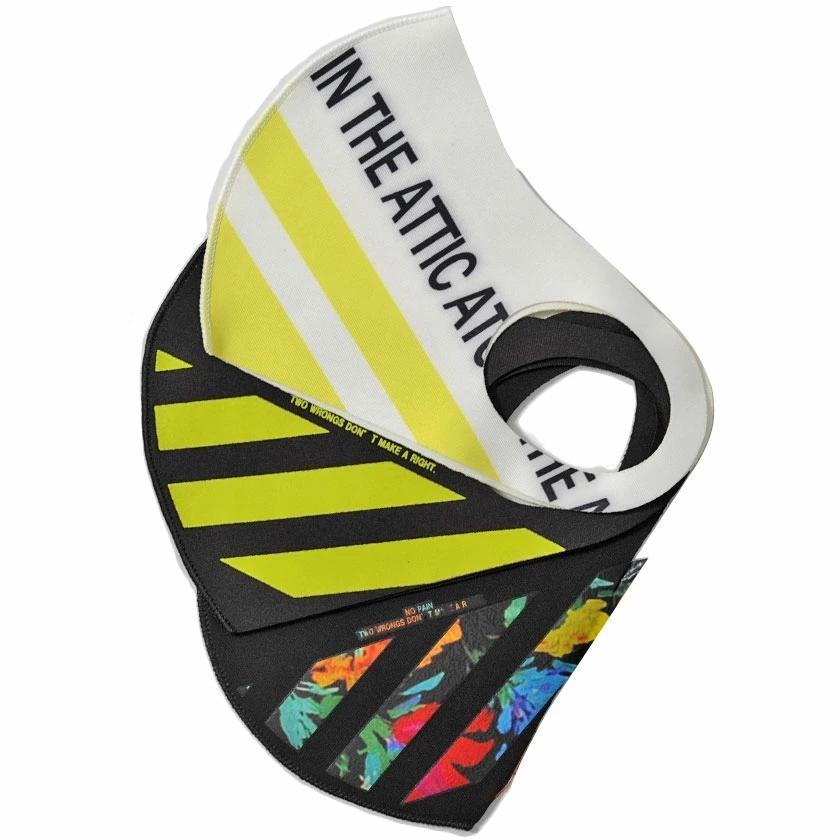 """"""" マスク 洗える メンズ 3枚入り SB select 3Pファッションマスク (返品・交換対象外商品) おしゃれ 総柄 花柄 迷彩柄 カモフラージュ柄 """" silverbulletxfuga 16"""
