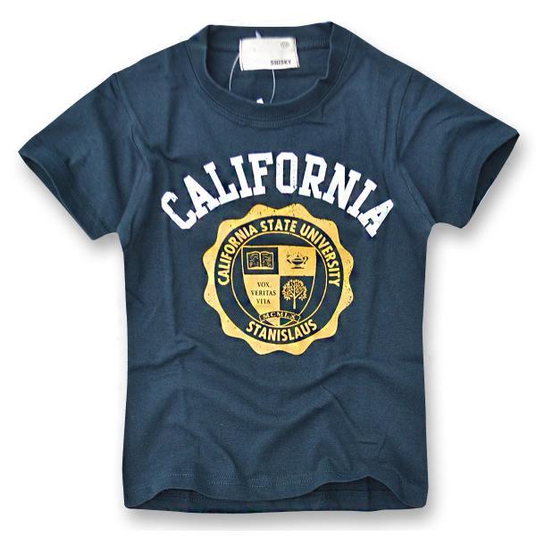 SHISKY アメカジ・プリントTシャツ キッズ ジュニア カレッジデザイン 半袖 ティーシャツ 男の子 110 120 130 140 150 160 2点以上で送料無料|sime-fabric|25