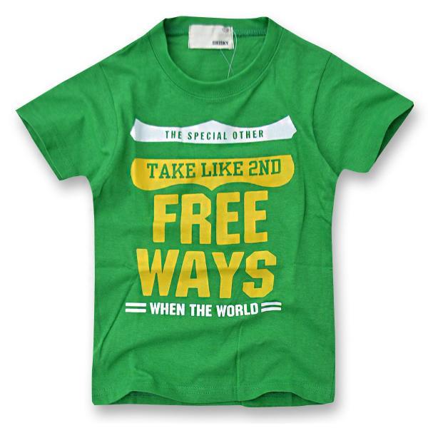 SHISKY アメカジ・プリントTシャツ キッズ ジュニア カレッジデザイン 半袖 ティーシャツ 男の子 110 120 130 140 150 160 2点以上で送料無料|sime-fabric|26