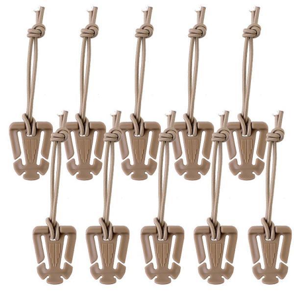 ウェブドミネーター アウトドア用 ウェビングバックル リュック バッグ かばん 硬質プラスチック製 高強度 ベルト ゴム紐 22mm 4種類 10本|simps-shop|14