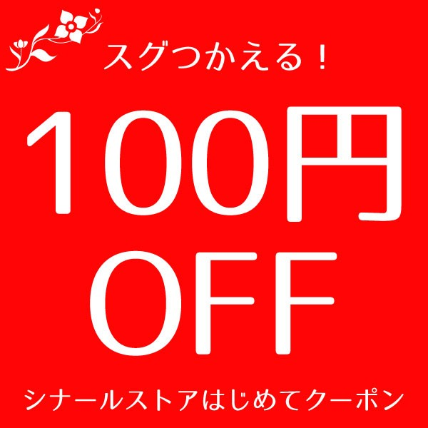 【シナールストア】はじめてのご利用感謝クーポン100円OFF