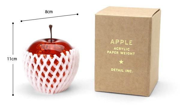 apple アップル ペーパーウェイト