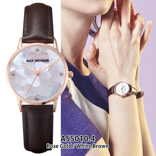 ALLY DENOVO アリーデノヴォ 腕時計 レディース クロリスパール Chloris Pearl 28mm sincere-inc 15