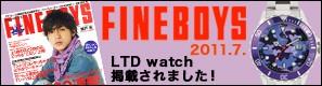 FINEBOYS,LTDwatch掲載