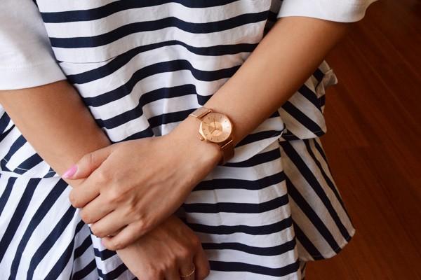 2年保証 KLASSE14 クラス14 クラッセ 腕時計 OKTO 28mm IL BRACIALE ブレスレット付き OK17RG002S