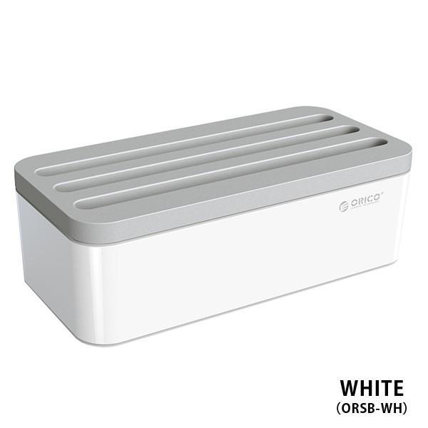 オリコ ストレージボックス orico strage box  充電コード スタンド タブレット iPhone android スマホ コンセント|sincere-inc|11
