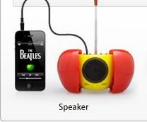シンシアのPC&モバイル関連アイテム-iPhone4S対応スピーカー