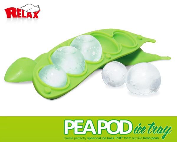 【RELAX/リラックス】 PEAPOD Ice Tray/ピーポッドアイストレー
