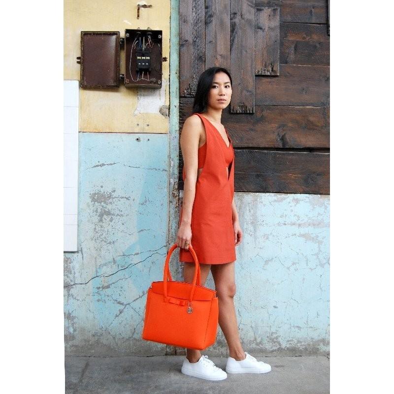 SKIMP ウェットスーツ素材バッグ オレンジ3 軽量 撥水