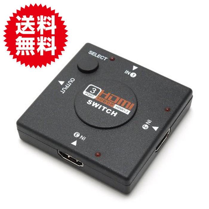 3ポート HDMI セレクター