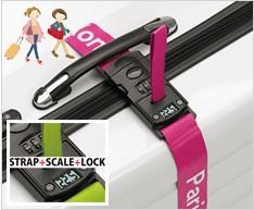 デジタル計量計付きスーツケースベルトスマートラゲッジ