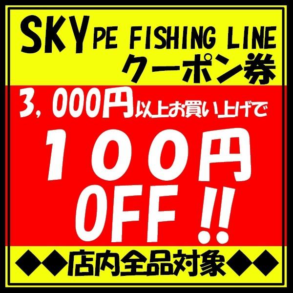 【全商品対象】3,000円以上お買い上げで100円OFF!クーポン