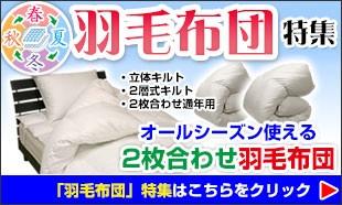 羽根・羽毛布団特集