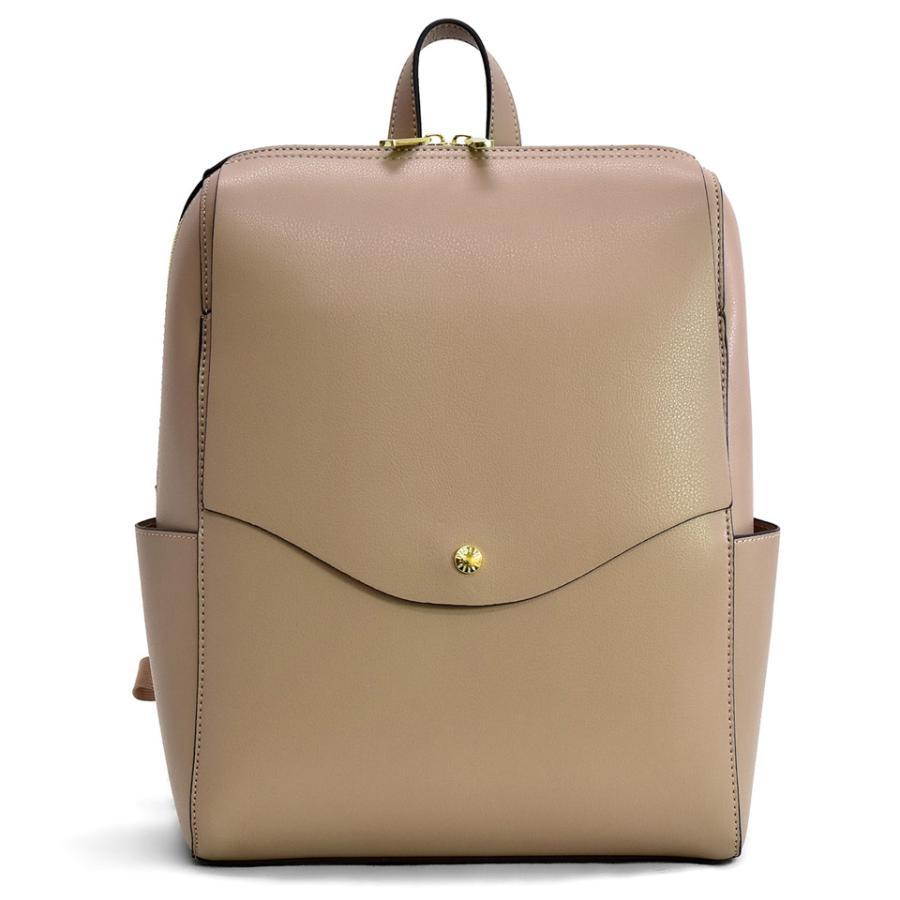 かるいかばん リュック バッグ レディース おしゃれ 軽い 軽量 大容量 a4 通勤 通学 女子 旅行 大人 リュックサック 主婦 ママ かわいい グレー lg-p0114|slowfine|28