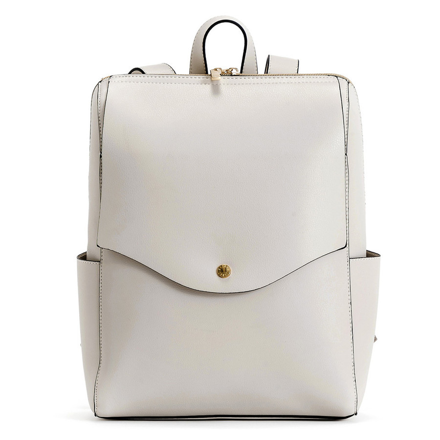 かるいかばん リュック バッグ レディース おしゃれ 軽い 軽量 大容量 a4 通勤 通学 女子 旅行 大人 リュックサック 主婦 ママ かわいい グレー lg-p0114|slowfine|25