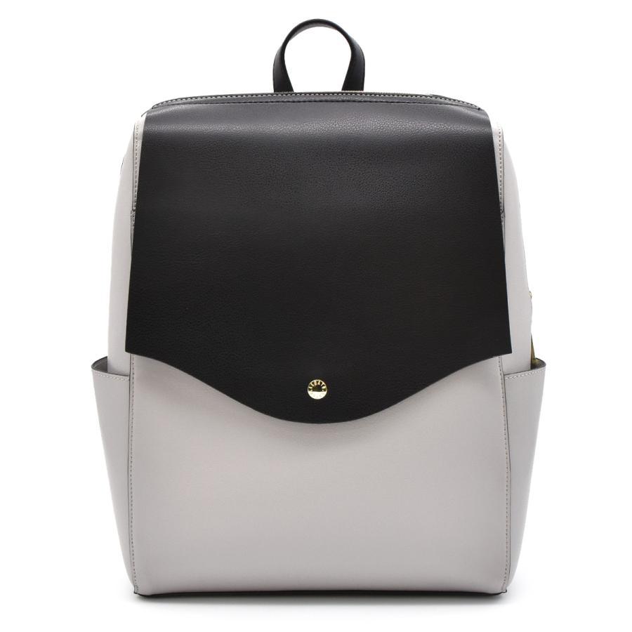 かるいかばん リュック バッグ レディース おしゃれ 軽い 軽量 大容量 a4 通勤 通学 女子 旅行 大人 リュックサック 主婦 ママ かわいい グレー lg-p0114|slowfine|24
