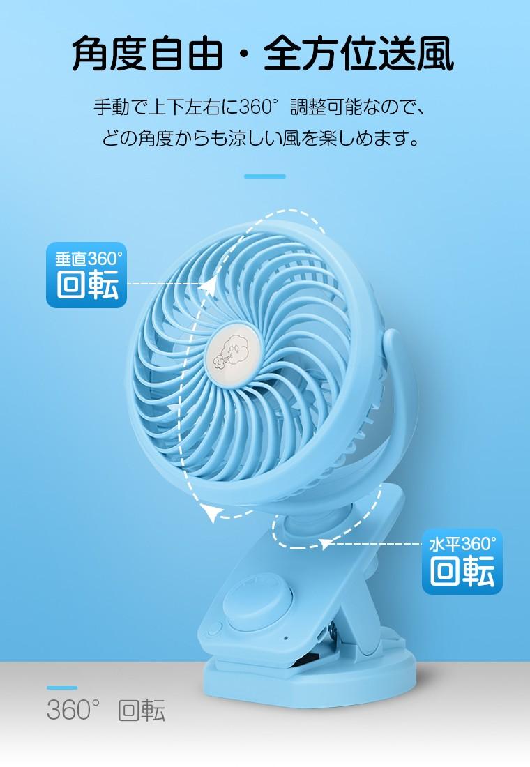 usb扇風機 大風量モデル