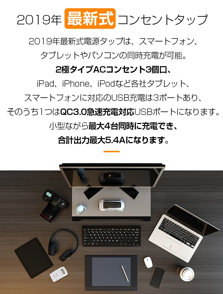 USB コンセント