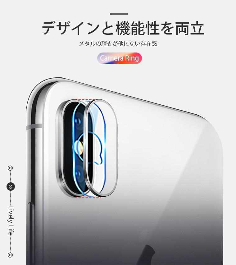 iPhone X 液晶保護フィルム