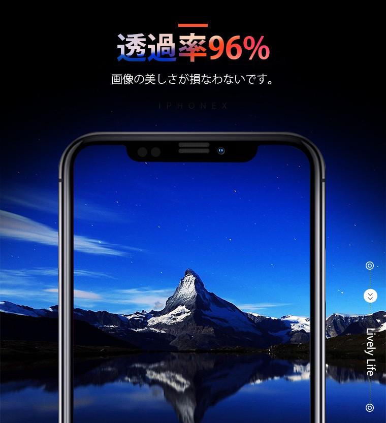 iPhone レンズ保護 ガラスフィルム